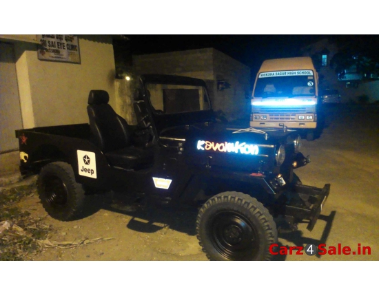 Photo mahindra jeep 3