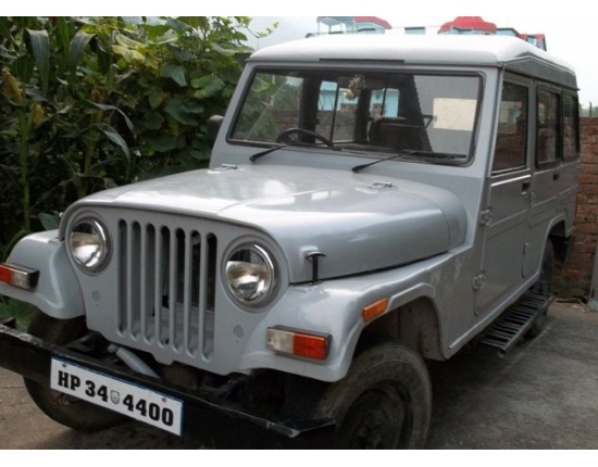 Photo mahindra jeep 5