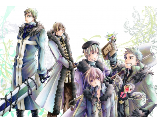 Hetalia nordics wallpaper