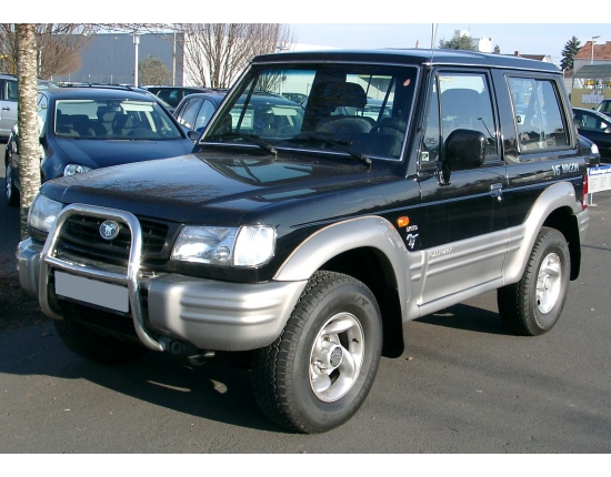 Photo moteur hyundai galloper 4