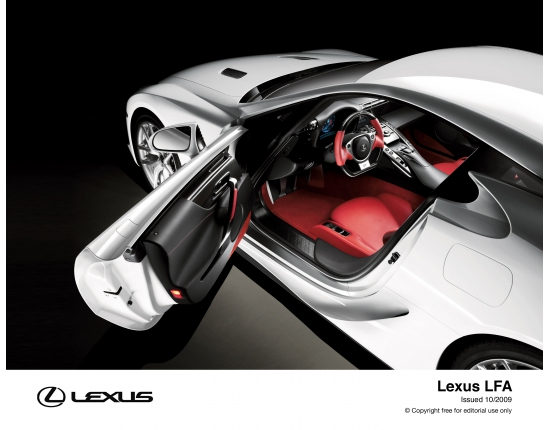 Photo de lexus lfa