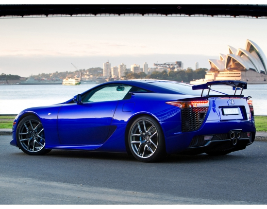 Photo de lexus lfa 4