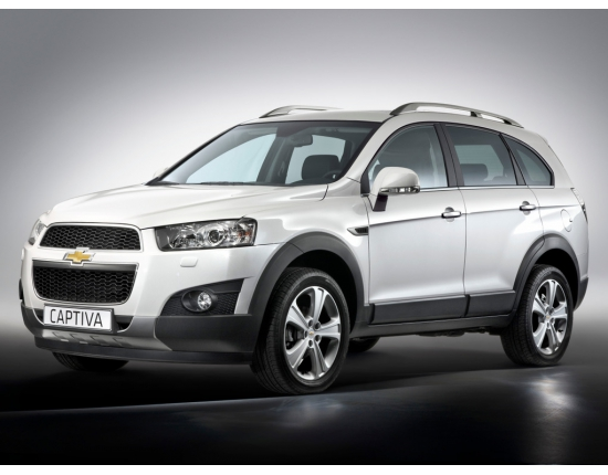Фото chevrolet captiva new