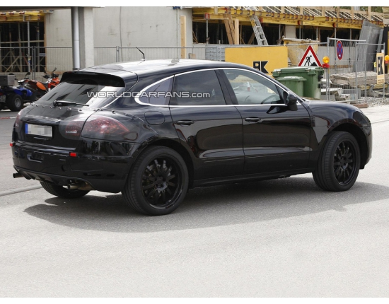 Photo futur porsche macan