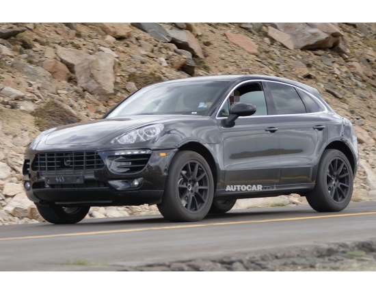Photo futur porsche macan 2