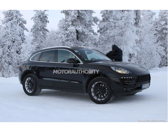 Photo futur porsche macan 4