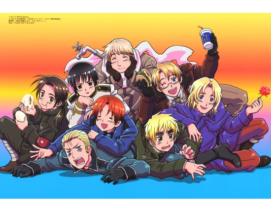 Hetalia world series wallpaper 3