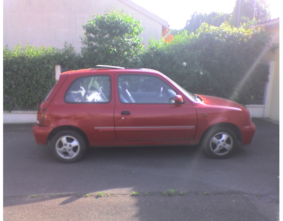 Photo voiture nissan micra 1