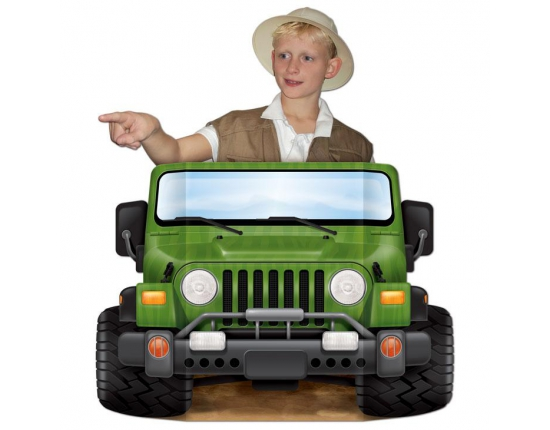 Jeep photo prop