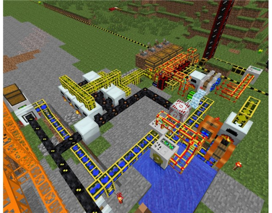 �������� ��������� industrial craft buildcraft