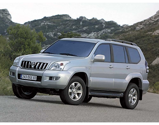 Фото toyota land cruiser prado 120 1