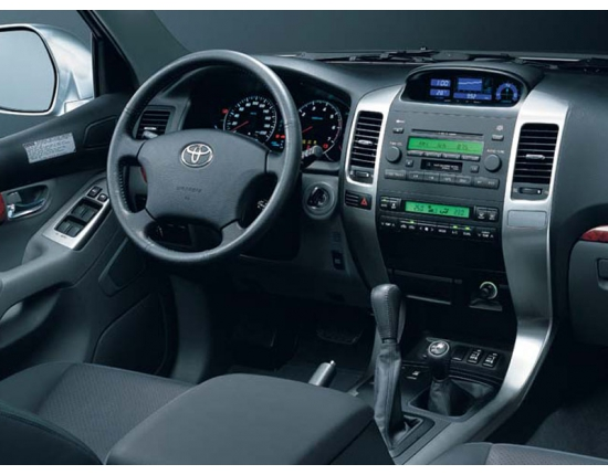 Фото toyota land cruiser prado 120 5