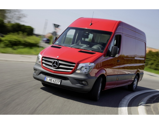 Photo nouveau mercedes sprinter 2013 1