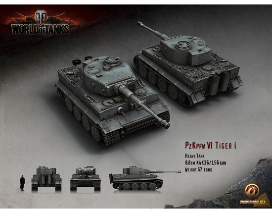 Картинки world of tanks тигр 1