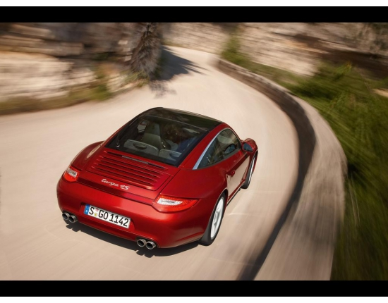 Photo porsche targa 2