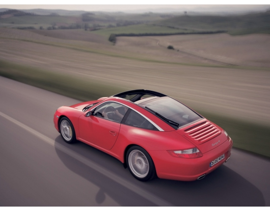 Photo porsche targa 4