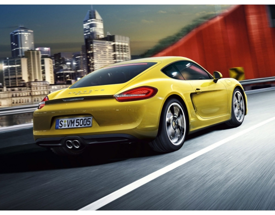Photo nouveau porsche cayman 3