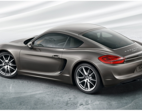 Photo nouveau porsche cayman 5