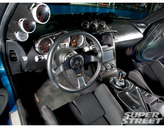 Photo interieur nissan 350z