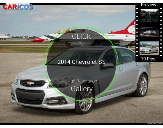 Image chevrolet ss