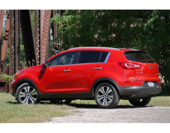 Photo du kia sportage 3