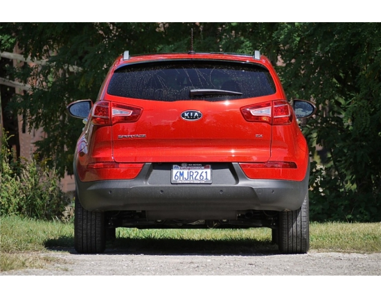 Photo du kia sportage 4
