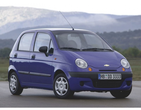 Photo chevrolet matiz 1
