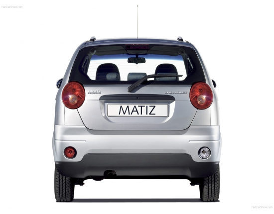 Photo chevrolet matiz 4