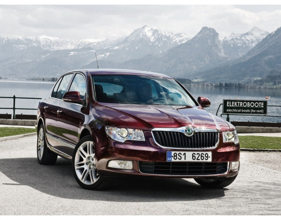 Photo skoda superb 4