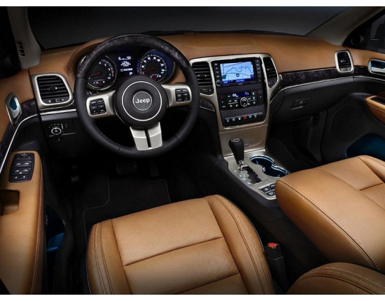 Photo interieur jeep grand cherokee 4