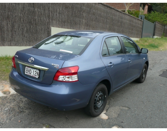 Photo toyota yaris 2008 5