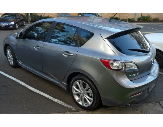 Photo of mazda 3 hatchback