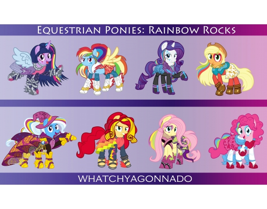 Картинки my little pony rainbow rocks