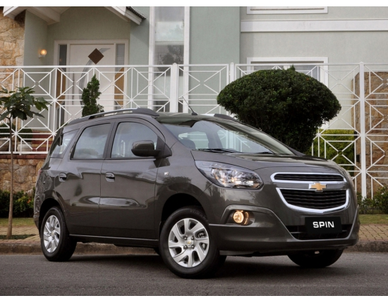 Photo chevrolet spin 5