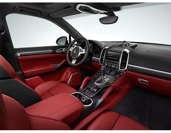Photo interieur porsche cayenne 1