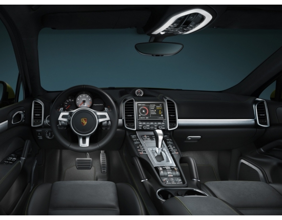Photo interieur porsche cayenne 2