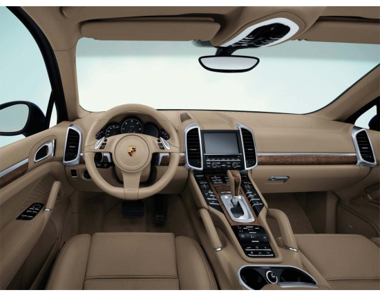 Photo interieur porsche cayenne 3