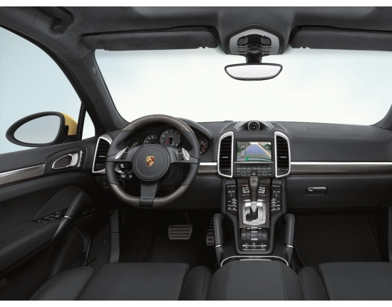 Photo interieur porsche cayenne 2010