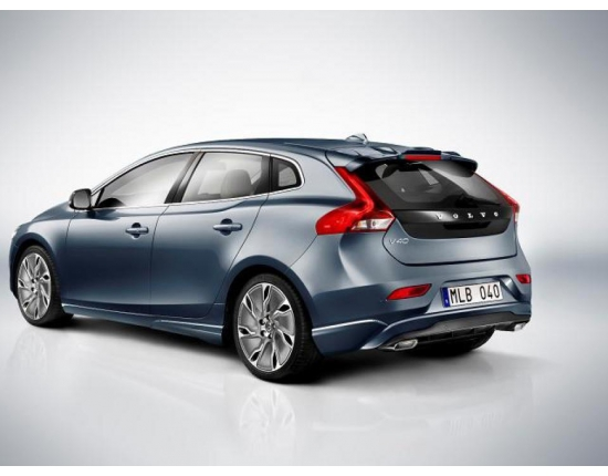 Photo moteur volvo v40