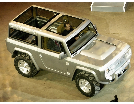 Photo ford bronco offroad 2