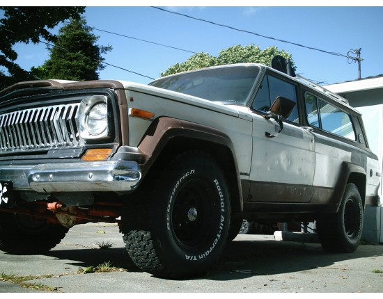 Photo of jeep wagoneer 4