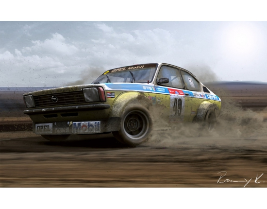 Photo opel kadett gte 2
