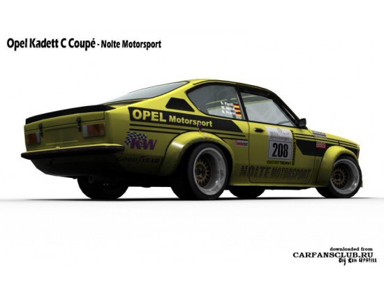 Photo opel kadett gte 3