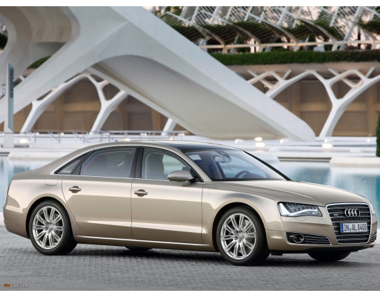 Image of audi a8 2