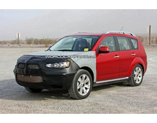 Фото mitsubishi outlander xl new