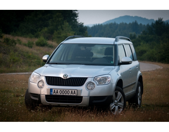Photo nouveau skoda yeti