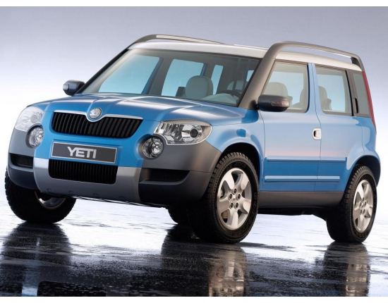 Photo nouveau skoda yeti 2