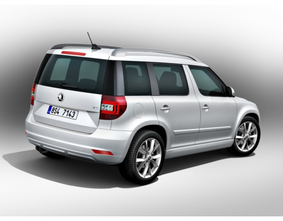 Photo nouveau skoda yeti 3