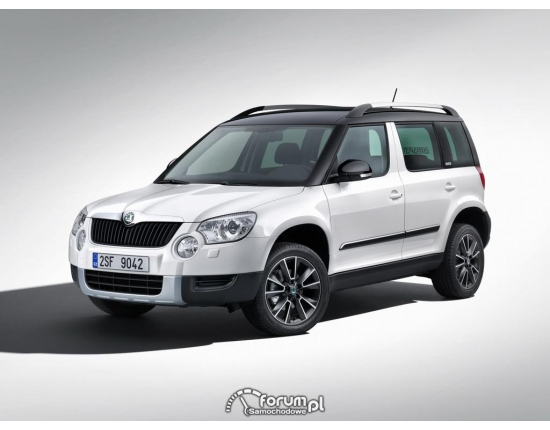 Photo nouveau skoda yeti 4