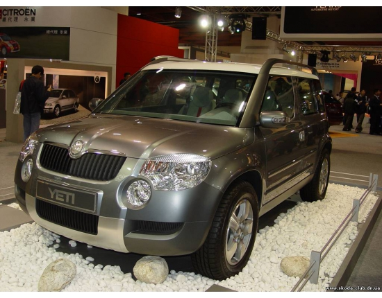 Photo nouveau skoda yeti 5